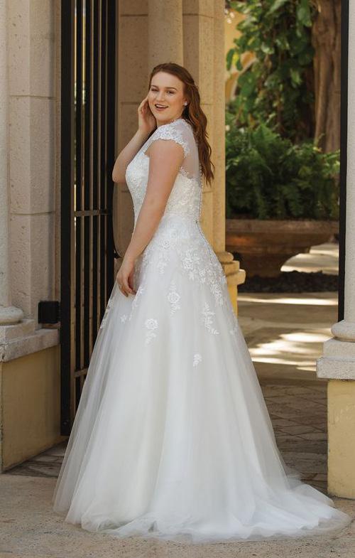 Plus Size Blush Bridal