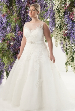 PLUS SIZE_Blush Bridal10